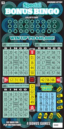 Special Bonus Bingo