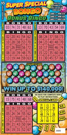 Super Special BONGO Bonus Bingo