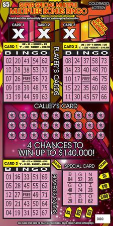 Super Special Multiple Multiplier Bonus Bingo