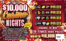 $10,000 Casino Nights