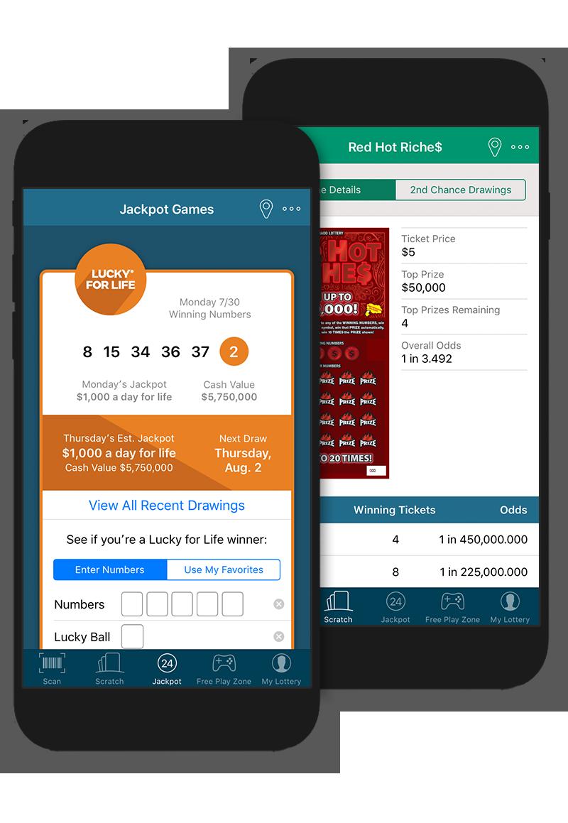 Mobile App | Colorado Lottery