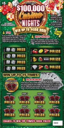 $100,000 Casino Nights