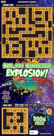 $250,000 Crossword Explosion!