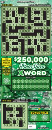 $250,000 Winter Green Xword