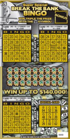 Super Break the Bank Bingo