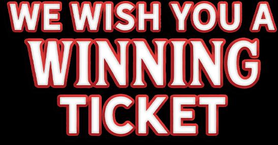 We wish you a winning ticket